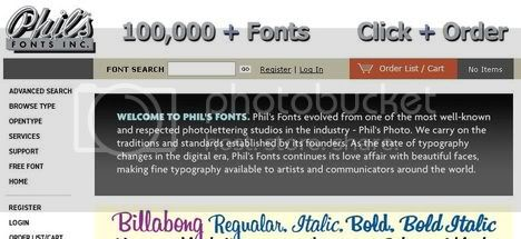 Phils Fonts - Commercial