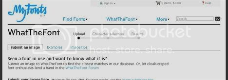 What the Font? - Upload a file and it will identify a font